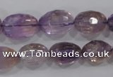 CAN28 15.5 inches 12*16mm faceted nugget natural ametrine beads