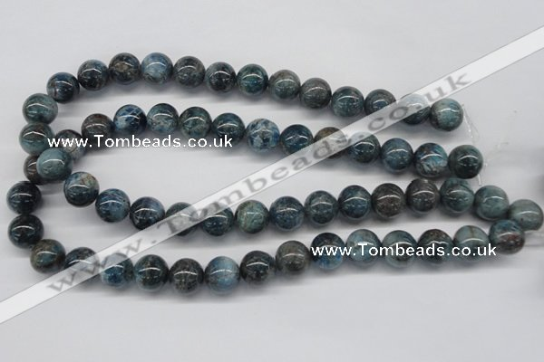 CAP07 15.5 inches 14mm round apatite gemstone beads wholesale