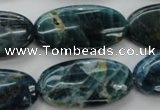 CAP326 15.5 inches 15*30mm oval natural apatite gemstone beads