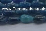 CAP375 15.5 inches 6*10mm teardrop apatite gemstone beads