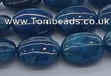CAP384 15.5 inches 10*14mm oval apatite gemstone beads