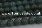 CAP500 15.5 inches 6mm round natual green apatite beads