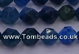 CAP572 15.5 inches 8mm faceted nuggets apatite gemstone beads