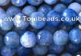 CAP593 15.5 inches 6mm faceted round apatite gemstone beads