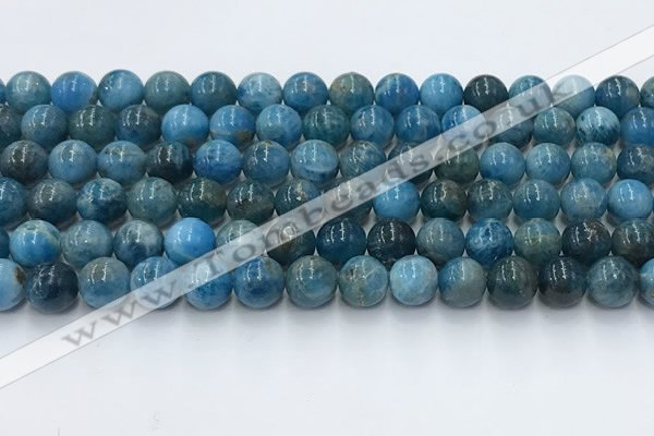CAP631 15.5 inches 8mm round apatite beads wholesale