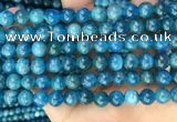 CAP652 15.5 inches 8mm round natural apatite beads wholesale