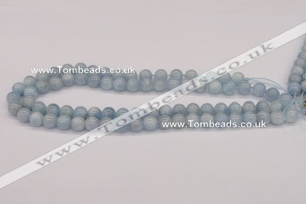 CAQ115 15.5 inches 6mm round AA grade natural aquamarine beads