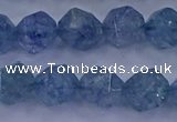 CAQ774 15.5 inches 12mm faceted nuggets imitation aquamarine beads