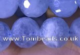 CAQ889 15.5 inches 10mm faceted round natural aquamarine beads