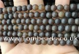 CAR217 15.5 inches 7mm round natural amber beads wholesale