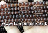 CAR228 15.5 inches 5mm round natural amber beads wholesale