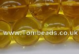 CAR567 15.5 inches 15mm - 16mm round natural amber beads wholesale