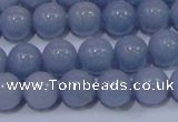 CAS202 15.5 inches 8mm round blue angel skin gemstone beads