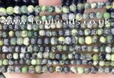 CAU520 15.5 inches 4.5mm - 5mm round Chinese chrysoprase beads