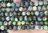 CAU525 15.5 inches 9mm round Chinese chrysoprase beads