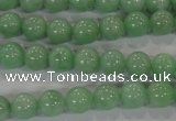 CBJ343 15.5 inches 8mm round AAA grade natural jade beads