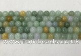 CBJ627 15.5 inches 8mm round jade beads wholesale