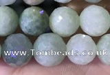CBJ666 15.5 inches 6mm faceted round jade beads wholesale