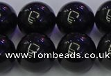 CBQ506 15.5 inches 16mm round natural black quartz beads