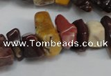 CCH297 34 inches 8*12mm mookaite chips gemstone beads wholesale