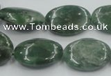 CCJ06 15.5 inches 18*25mm oval natural African jade beads wholesale
