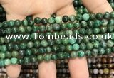 CCJ400 15.5 inches 4mm round west African jade beads wholesale