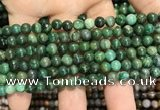 CCJ401 15.5 inches 6mm round west African jade beads wholesale