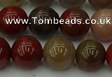 CCJ455 15.5 inches 14mm round colorful jasper beads wholesale