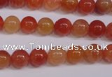 CCL03 15 inches 8mm round carnelian gemstone beads wholesale