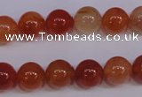 CCL04 15 inches 10mm round carnelian gemstone beads wholesale