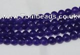 CCN10 15.5 inches 4mm round candy jade beads wholesale