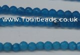 CCN1200 15.5 inches 4mm faceted round candy jade beads wholesale