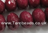 CCN1358 15.5 inches 13*18mm faceted rondelle candy jade beads
