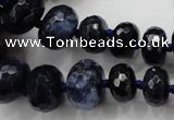 CCN1520 15.5 inches 5*8mm - 13*18mm faceted rondelle candy jade beads