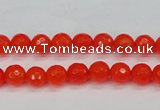 CCN1950 15 inches 4mm faceted round candy jade beads wholesale