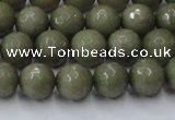 CCN2024 15 inches 8mm faceted round candy jade beads wholesale
