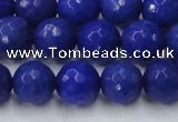 CCN2069 15 inches 14mm faceted round candy jade beads wholesale