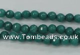CCN2278 15.5 inches 4mm faceted round candy jade beads wholesale