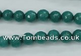 CCN2280 15.5 inches 8mm faceted round candy jade beads wholesale