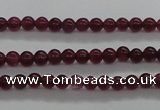 CCN2315 15.5 inches 2mm round candy jade beads wholesale