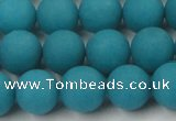 CCN2432 15.5 inches 6mm round matte candy jade beads wholesale