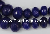 CCN2650 15.5 inches 5*8mm - 12*16mm faceted rondelle candy jade beads