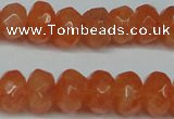 CCN2872 15.5 inches 5*8mm faceted rondelle candy jade beads