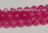 CCN32 15.5 inches 8mm round candy jade beads wholesale