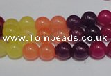 CCN37 15.5 inches 8mm round candy jade beads wholesale
