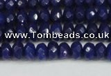 CCN4172 15.5 inches 5*8mm faceted rondelle candy jade beads