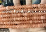 CCN5138 15 inches 5*8mm faceted rondelle candy jade beads