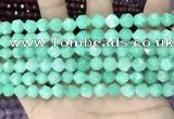 CCN5246 15 inches 8mm faceted nuggets candy jade beads