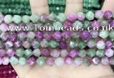 CCN5261 15 inches 8mm faceted nuggets candy jade beads