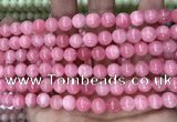 CCN5325 15 inches 8mm round candy jade beads Wholesale
